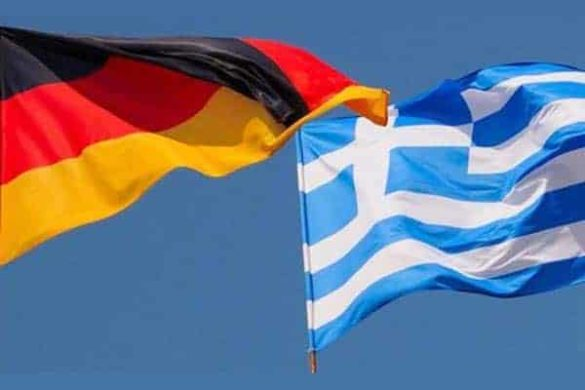 greek and german flag